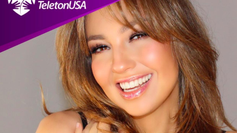 Thalía se ha mantenido invitando a sus seguidores a unirse a su c...
