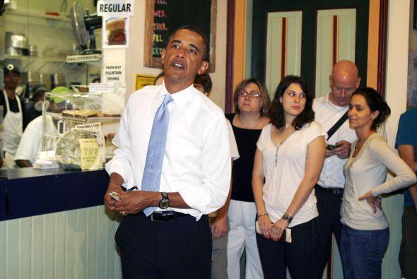 Al presidente Obama le gustan las barras de proteína con mantequilla de...