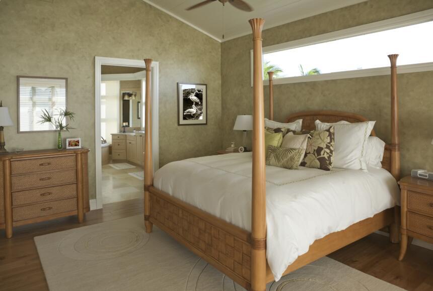 El color de las paredes también es un elemento clave para dar un toque e...