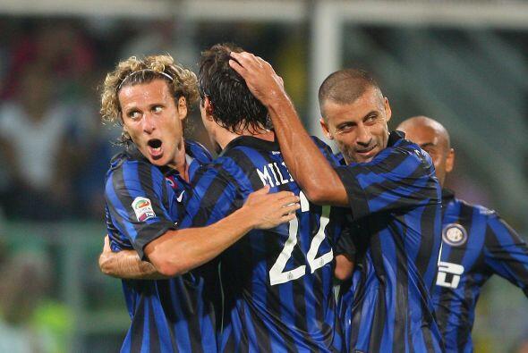 El Inter de Milán cerró la fecha con su duelo ante el Palermo. Los 'nera...