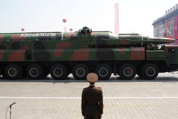 Entre los proyectiles norcoreanos que podrían están listos para ser lanz...