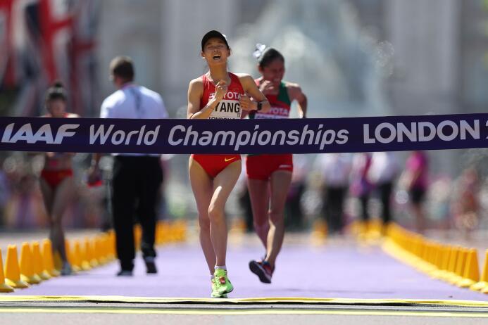 Lupita González, la guerrera del atletismo mexicano GettyImages-83099634...