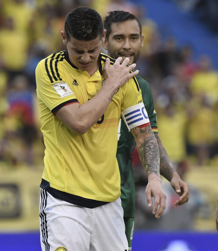 Colombia 1-0 Bolivia: James salva los tres puntos para los 'cafeteros' e...