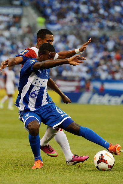 Honduras y Costa Rica cerraron la ronda de cuartos de final de la Copa Oro.