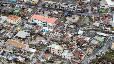 La destrucción que dejó Irma en el Caribe en 10 fotografías