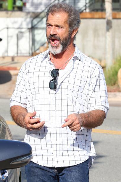 Mel Gibson sonríe tras escuchar que ya no tiene que darle dinero a su ex...