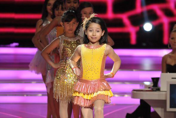 Después llegó la hora de que las pequeñas demostraran su talento en el t...