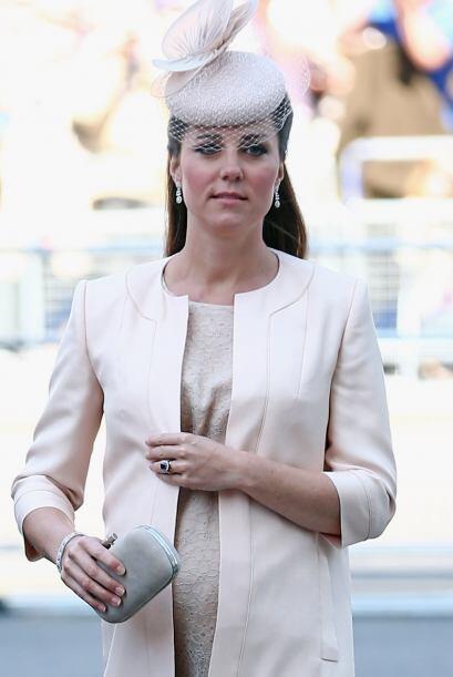 Kate Middleton sigue los pasos de Lady Di, la mamá de su esposo.