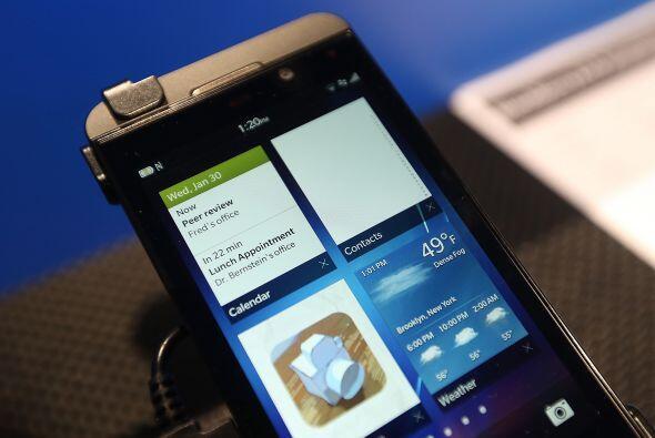 Vivek Bhardwaj, jefe de portafolio de software para BlackBerry, dijo sob...