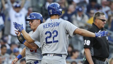 Los Dodgers derrotaron a los Padres por 15-0