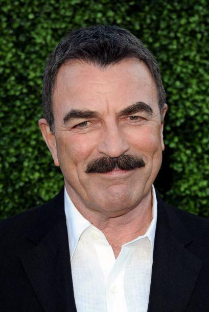 """El galán de """"Magnum"""" lleva décadas portando su inigualable bigote.  Mira..."""
