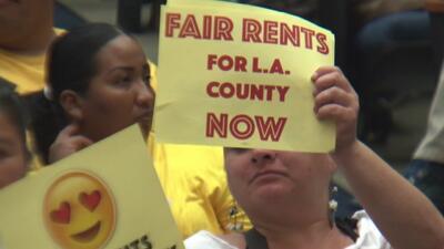 Aprueban control temporal en las rentas de áreas no incorporadas del condado de Los Ángeles
