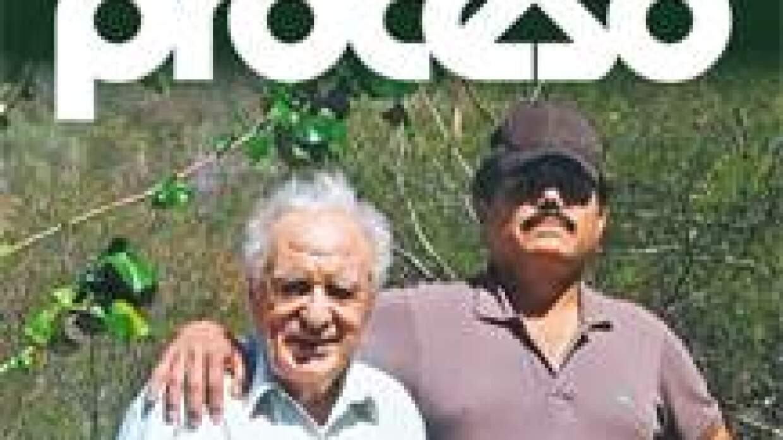 "Julio Scherer y ""El Mayo"" Zambada."