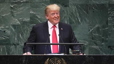 Trump se alaba a sí mismo y la audiencia se ríe de él: 6 cosas que el presidente dijo ante la ONU
