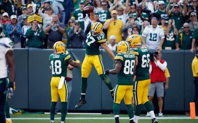 Los Packers reaccionaron en la segunda mitad y se llevaron el triunfo.