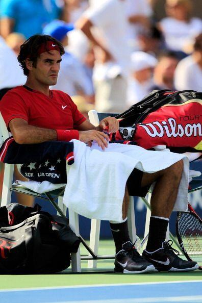 Este año Roger Federer no fue el mismo. No estuvo lesionado, pero su niv...