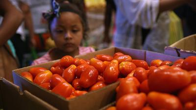475,000 niños y jóvenes viven en pobreza
