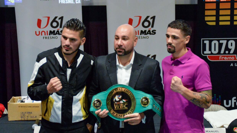 José Ramírez y Johnny García