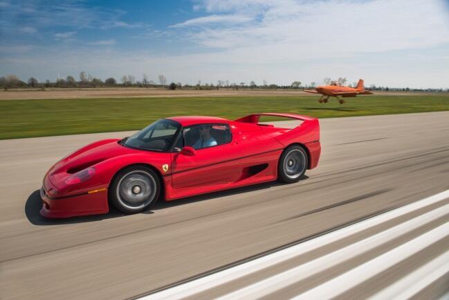 El Ferrari F50 tiene un valor estimado entre 1,800,000 y 2,100,000 d&oac...