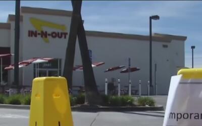 Cierran temporalmente un restaurante In-n-out en el Área de la Bahía por...