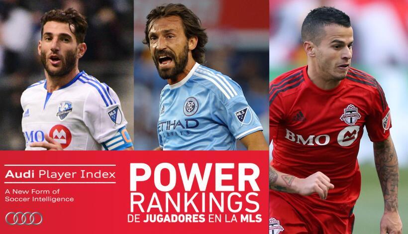 Power Rankings de jugadores en la MLS