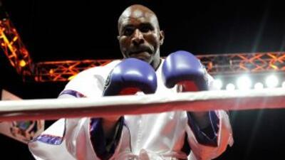 Evander Holyfield combatió por última vez en abril de 2010 en Las Vegas,...