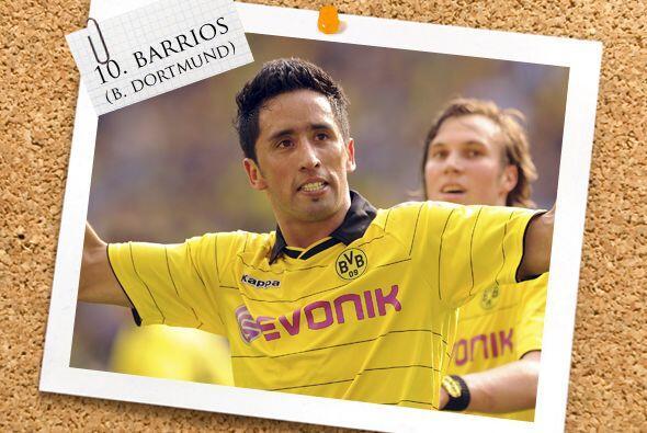 Lo acompaña el argentino naturalizado paraguayo Lucas Barrios.