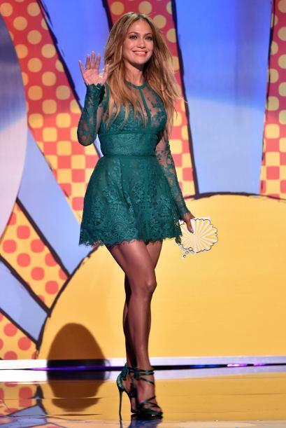 Jennifer Lopez presentó una terna