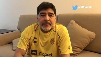 Maradona se suma al apoyo a los damnificados de Sinaloa