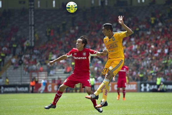 Hugo Rodríguez, el defensor de Tigres no ha tenido la participación que...