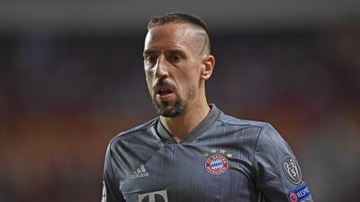 Franck Ribéry abofeteó a un comentarista de televisión