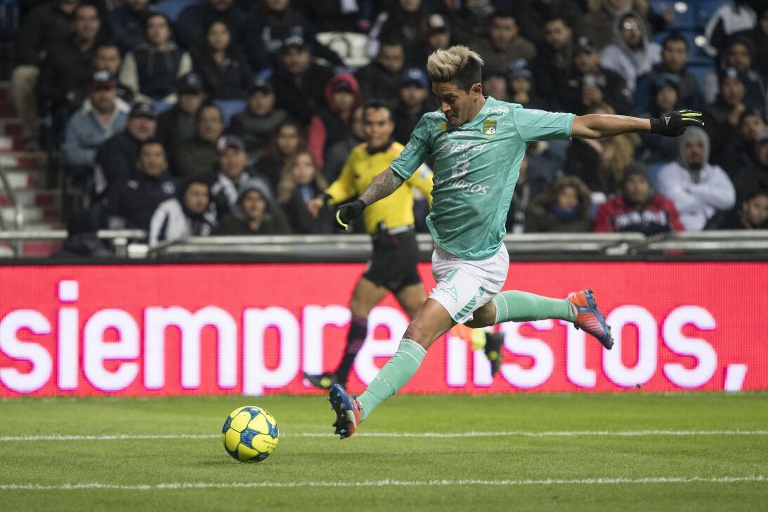 Germán Cano no se ha caracterizado por ser un delantero que pelee por el...