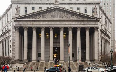 Una de las tantas sedes del Poder Judicial de la Ciudad de Nueva York, e...