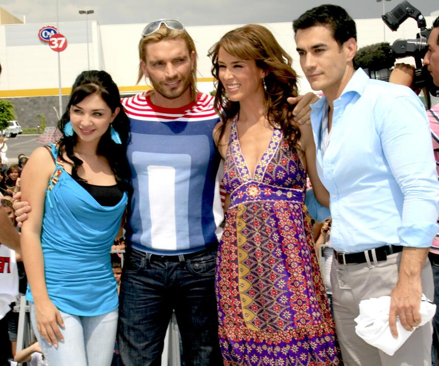 Ellas han sido las mujeres de Julián Gil en las telenovelas