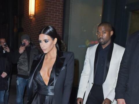 Kim Kardashian y Kanye West acudieron al cumpleaños de John Legen...