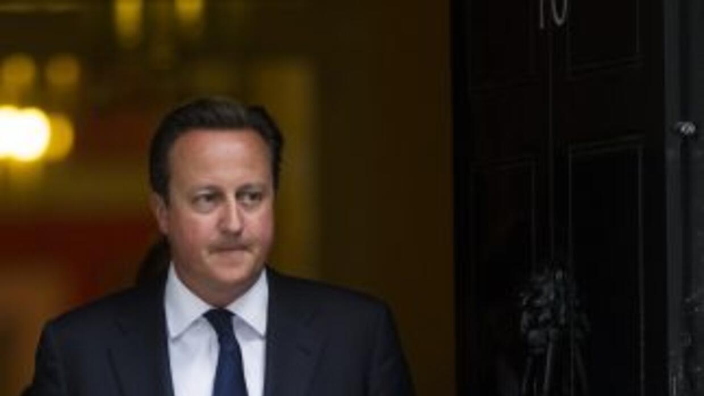 El Primer Ministro de Gran Bretaña, David Cameron.