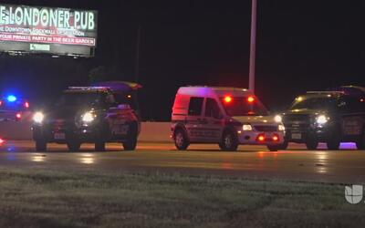 Una mujer muere atropellada al intentar cruzar la I30 en Garland