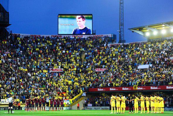 El estadio El Madrigal vivió uno más de los homenajes al recientemente f...