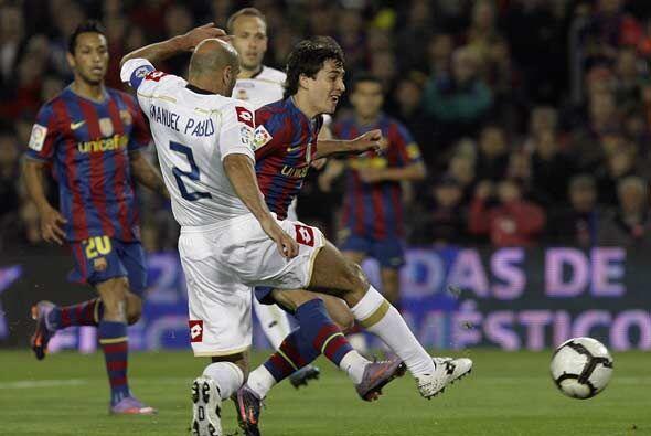 Con ausencias en el ataque como las de Henry y Zlatan, Bojan hizo que no...