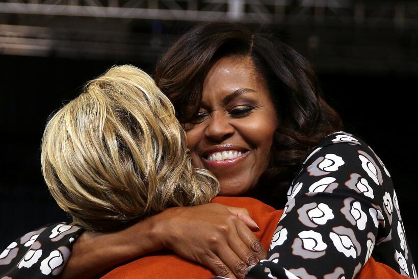 Michelle y Hillary