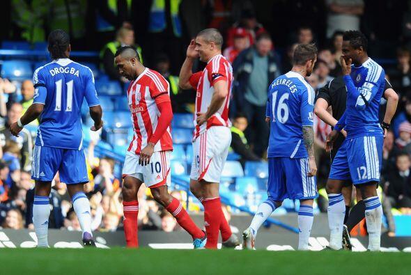 El encuentro fue duro pero los locales, Chelsea, sacaron el mejor result...