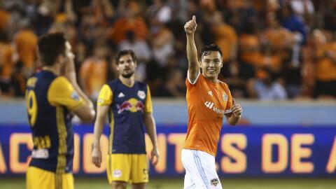 Erick Torres con Dynamo