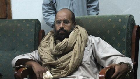 Seif al-Islam, hijo del difunto exdictador libio Moamar Gadafi