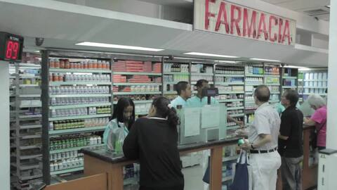Six hours inside a Venezuelan pharmacy