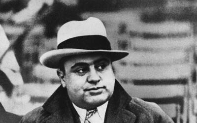 Una imagen del célebre gánster Al Capone