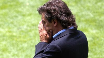 Las lágrimas de Rubén Omar Romano, el recuerdo de la final Toluca-Santos en 2010