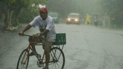 El huracán tocó tierra en el estado mexicano de Veracruz, que ha sido az...