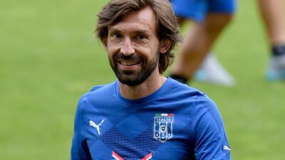 Andrea Pirlo será asistente técnico en la selección italiana