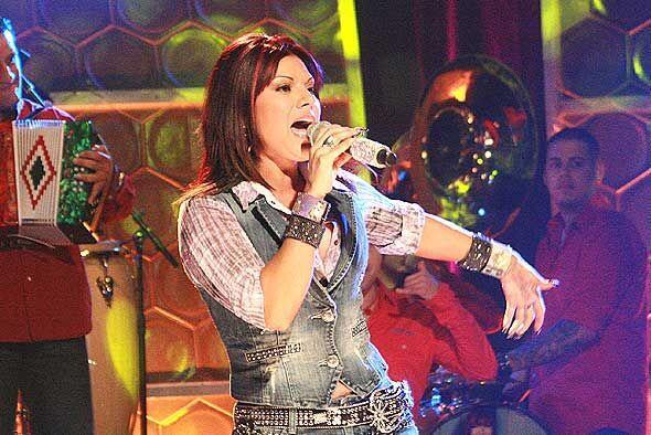 La cantante puso a bailar hasta a la jueza Cristina Pereyra.
