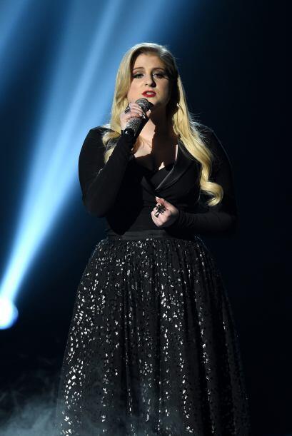Demostró que su voz es tan potente como para cantar desde el corazón.